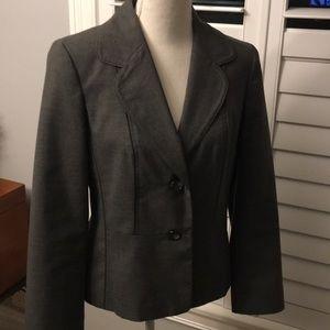 Women's Grey Ann Taylor Jacket